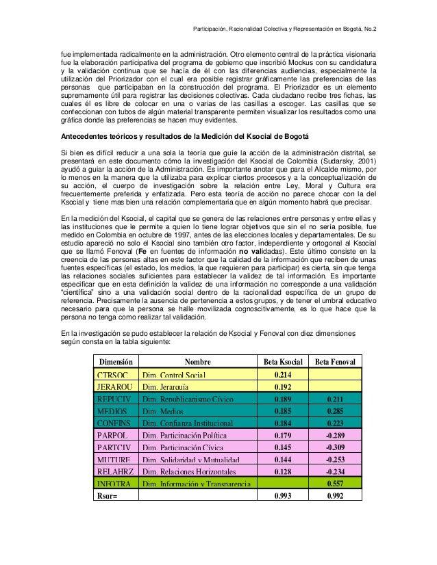 Participación y sociedad civil en Bogotá 2003 Slide 2
