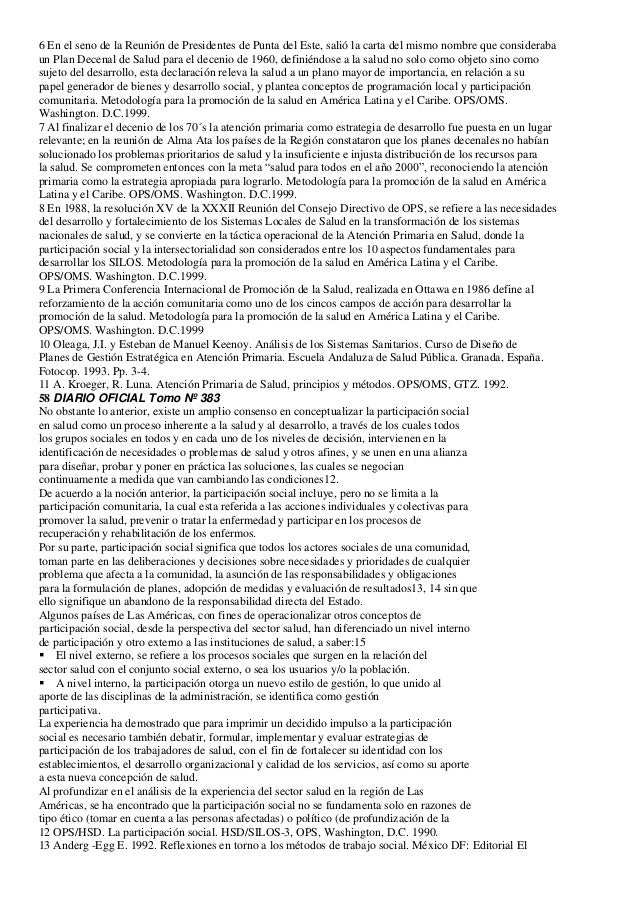 6 En el seno de la Reunión de Presidentes de Punta del Este, salió la carta del mismo nombre que considerabaun Plan Decena...