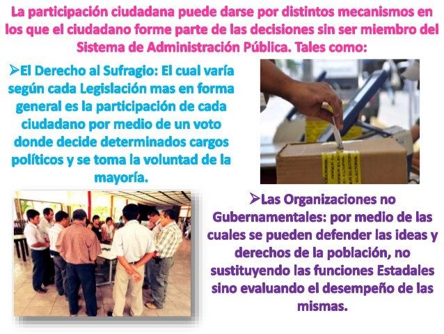 Participacion Ciudadana y Gestion Publica Slide 3