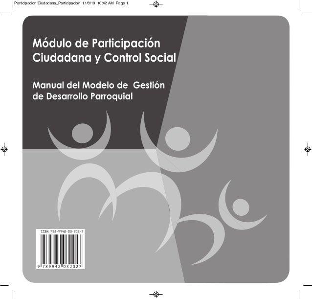 Participacion Ciudadana_Participacion 11/8/10 10:42 AM Page 1