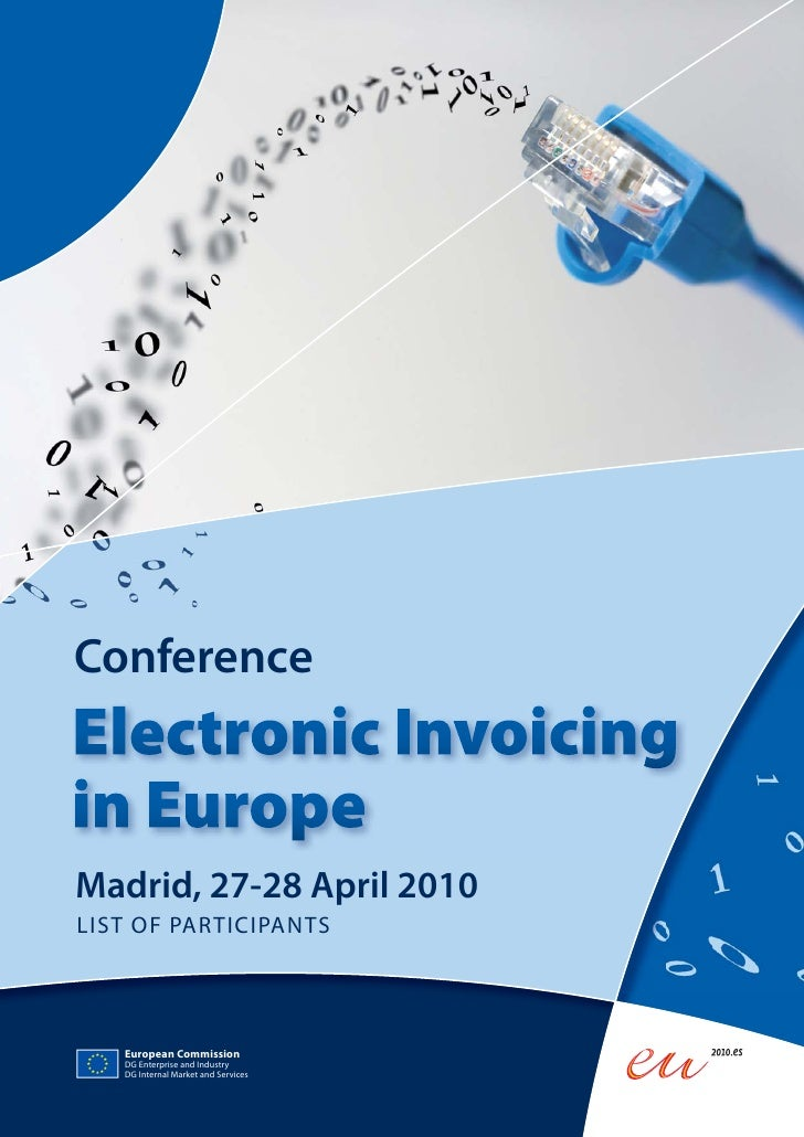 Madrid, 27-28 April 2010     Conference    Madrid, 27-28 April 2010 LIST OF PARTICIPANTS        European Commission    DG ...
