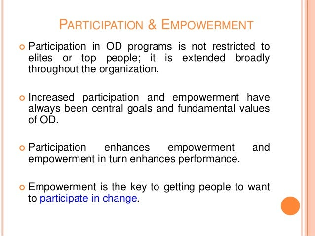 importance of employee participation