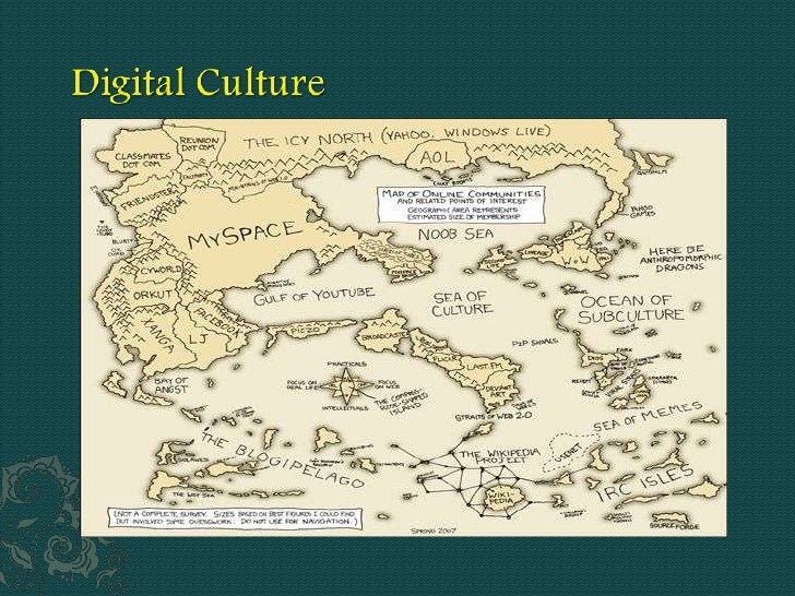 Digital culture is an emerging value system and set of expectations as particularly expressed in the activities of news an...