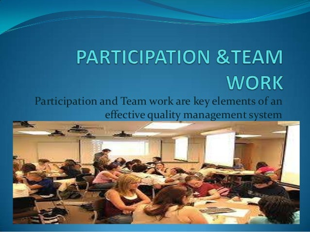 """how participation works Forget the buzz words: having students work in groups is one of the best ways to increase student participation don't keep them in the same groups all the time –give them a chance to be the """"smart kid"""" who can help someone one day and the kid who needs help the next."""