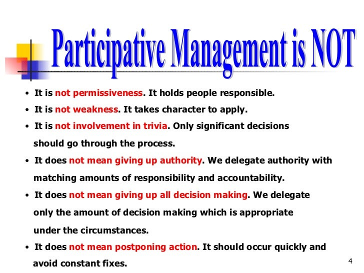 Workers Participation in Management : Definition, Characteristics and Objectives