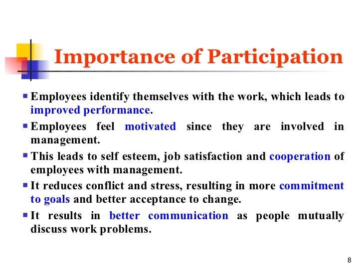 participative management is a __________
