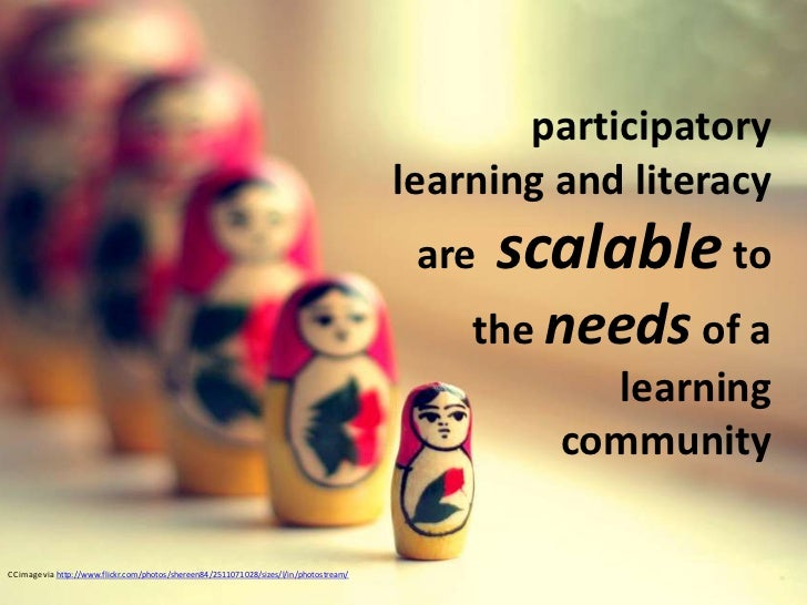 Participatory learning and libraries connected learning webinar march 2012 Slide 3