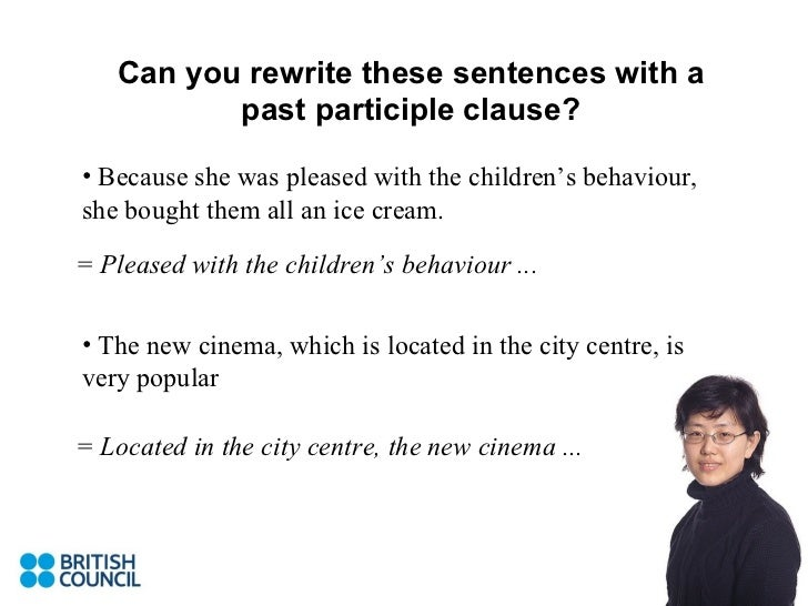 Participle Clauses