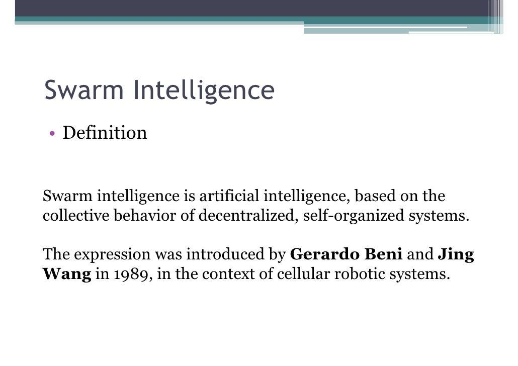 Particle Swarm Optimization Slide 3