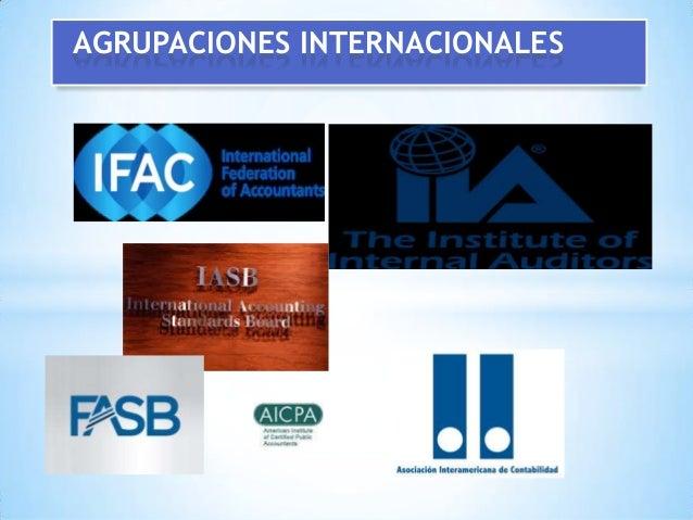 AGRUPACIONES INTERNACIONALES