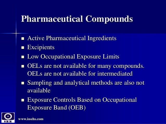 Particulate exposure controls in pharma industries- Guangzhou China 2016 Slide 3