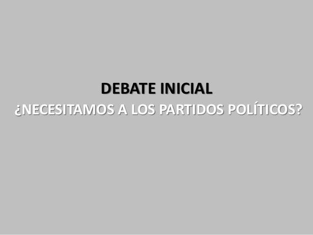 Partidos politicos: Del ladrillo al smartphone Slide 2