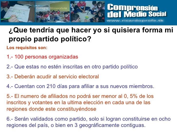 requisitos para formar un partido politico en mexico