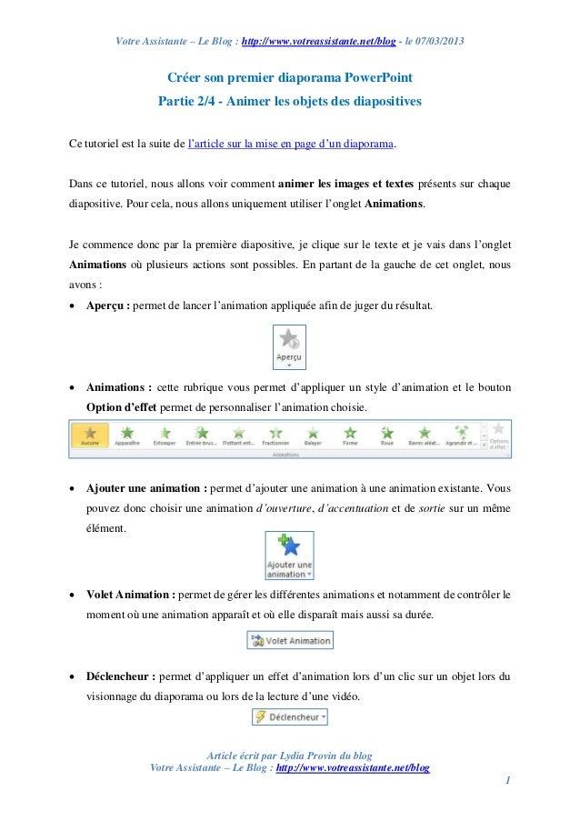 Votre Assistante – Le Blog : http://www.votreassistante.net/blog - le 07/03/2013 Article écrit par Lydia Provin du blog Vo...