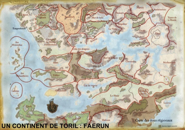 Partie D&D Forgotten Realms (French)