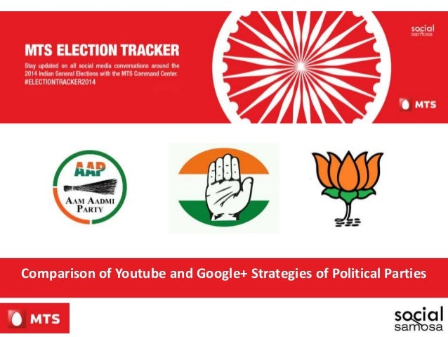 Comparison of Youtube and Google+ Strategies of Political Parties