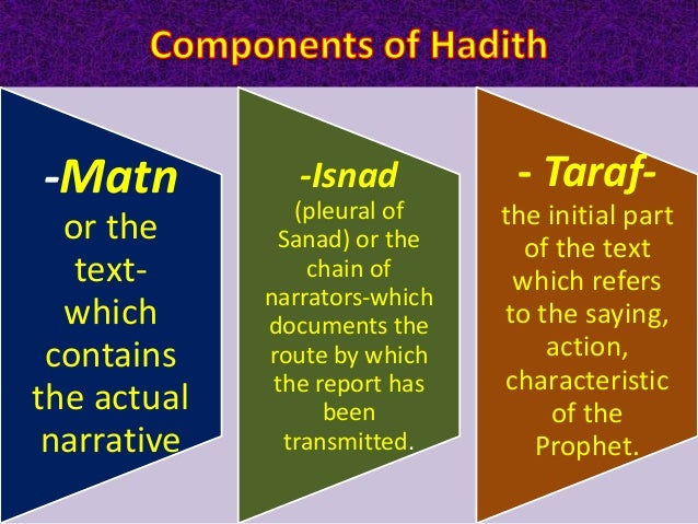 1-Sahih Transmitted through an unbroken chain of narrators all of whom are of sound character and memory. Such a hadith sh...