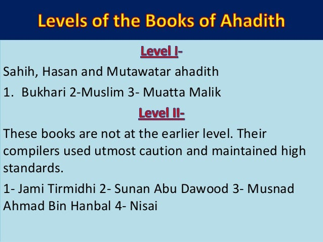 • 3- Mustakhraj Ali Toosi upon Tirmidhi • 4- Mustakhraj Mohammad ibn Abdul Malik ibn Aimin upon Sunan Abi Dawood When a si...