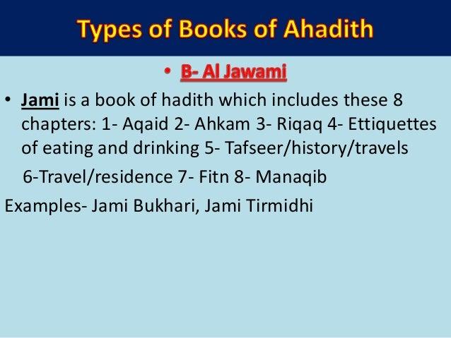 • Books with particular subjects- 1- Al Azkar by Imam Nawawi- Azkar and duas 2-Al Kalamut Tayyab by Ibn Taymiya- Azkar 3- ...