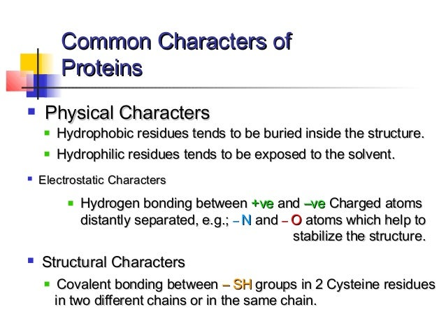 Part I : Introduction to Protein Structure