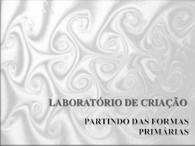 LABORATÓRIO DE CRIAÇÃO