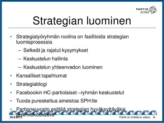 Strategiaprosessi