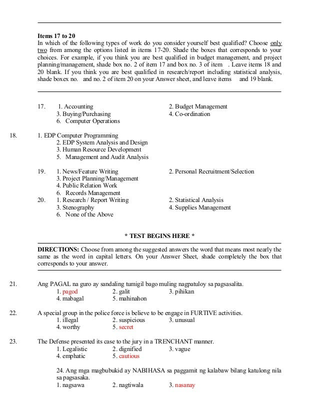 Philippine Civil Service Reviewer Pdf
