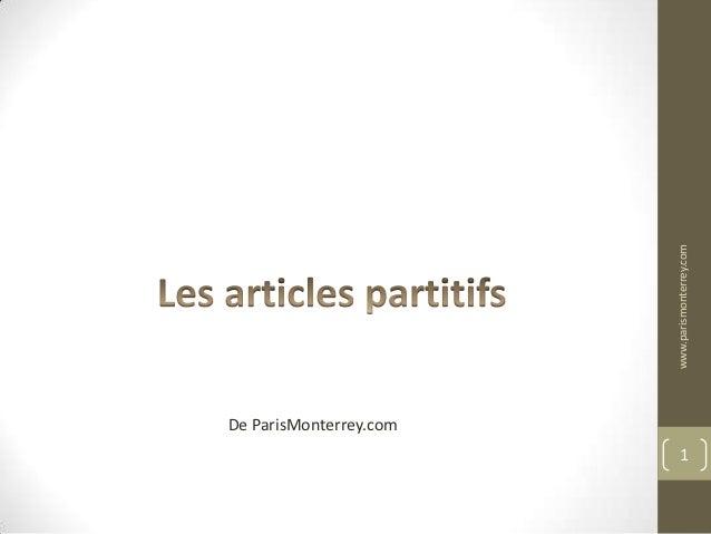 www.parismonterrey.comDe ParisMonterrey.com                             1