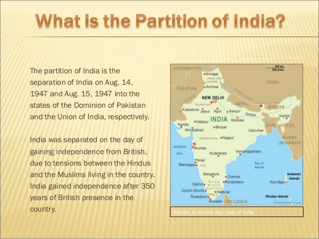 The Hidden Story of Partition and its Legacies