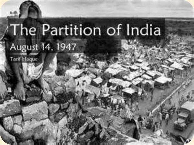 reasons for india partition 1947