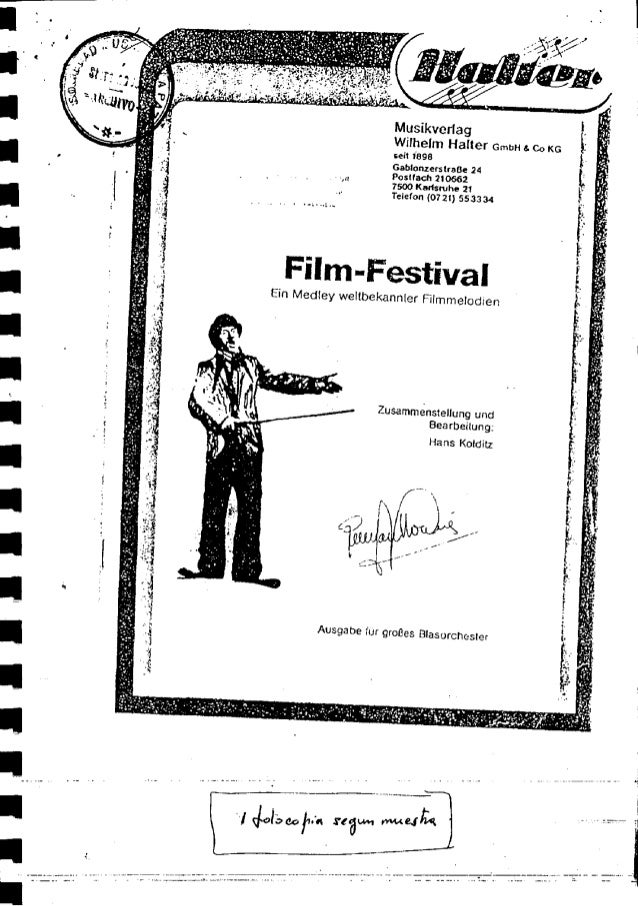 Filme Festival - Hans Koldiz