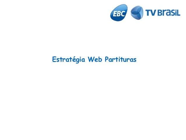 Estratégia Web Partituras