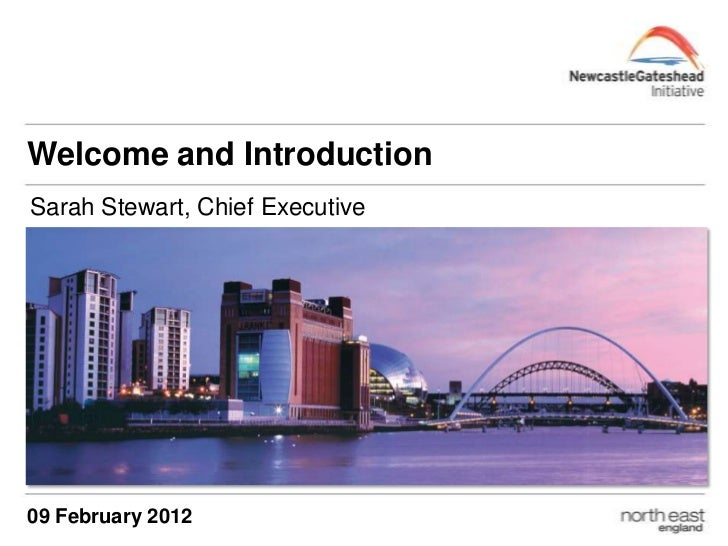 Welcome and IntroductionSarah Stewart, Chief Executive09 February 2012