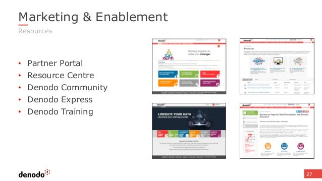 Partner Enablement Key Differentiators Of Denodo Platform 60 For The Field Cb Product Page