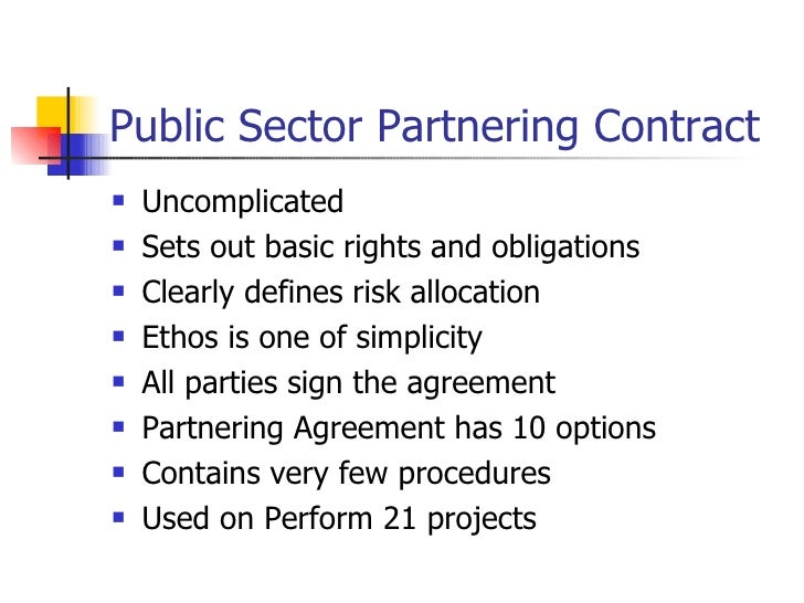 Partnering And Partnering Contracts Presentation