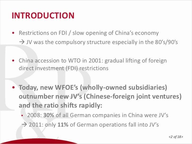 Joint Venture - JV