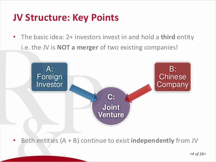 Successful joint ventures in China