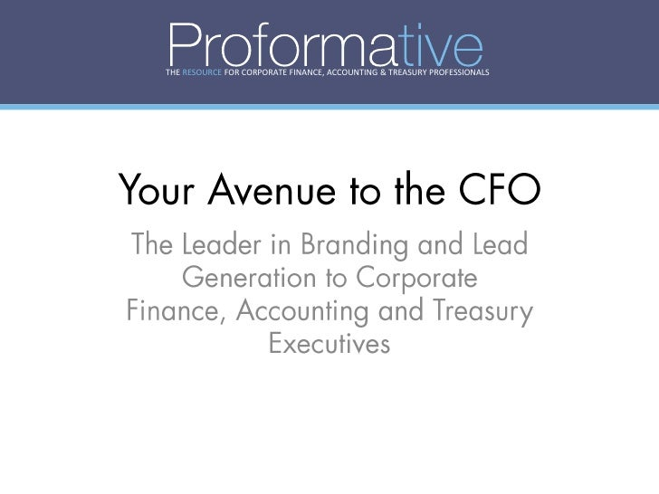THE RESOURCE FOR CORPORATE FINANCE, ACCOUNTING & TREASURY PROFESSIONALS