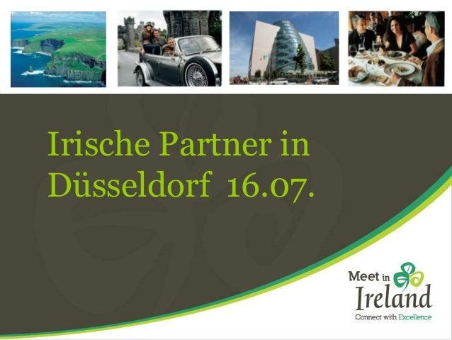 Irische Partner in Düsseldorf 16.07.