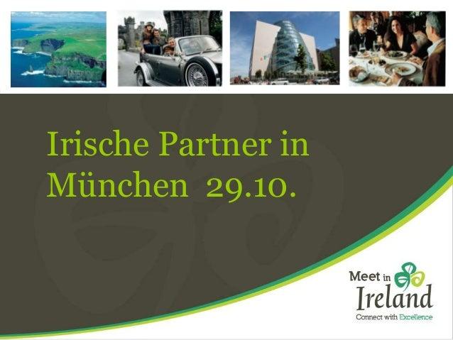 Irische Partner in  München 29.10.