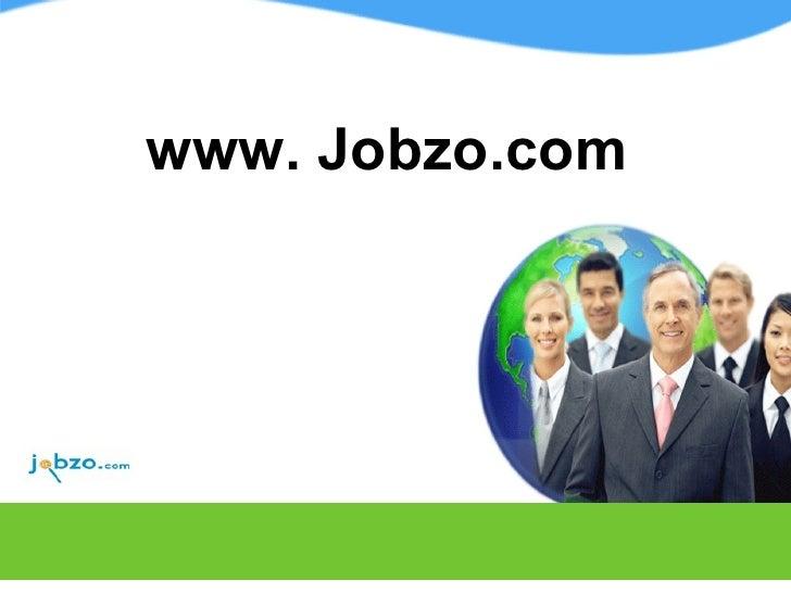 www. Jobzo.com