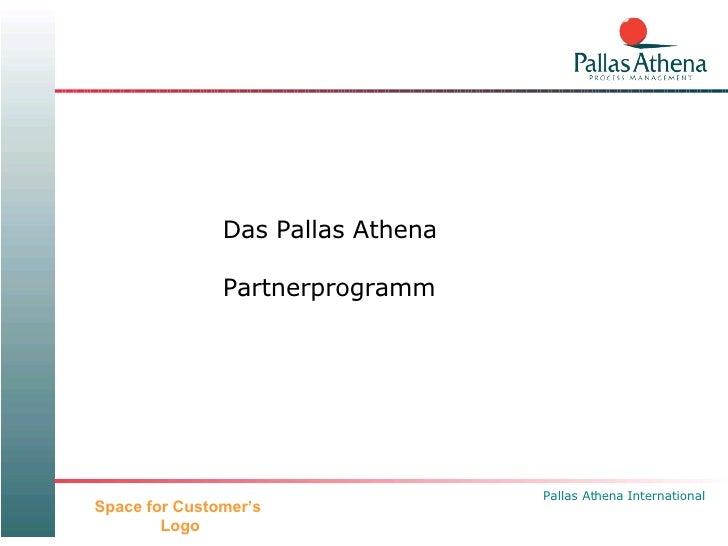 Das Pallas Athena Partnerprogramm