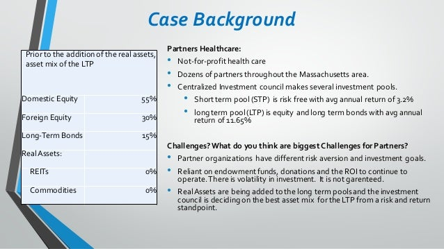 Partners Healthcare Case Analysis – Case Analysis