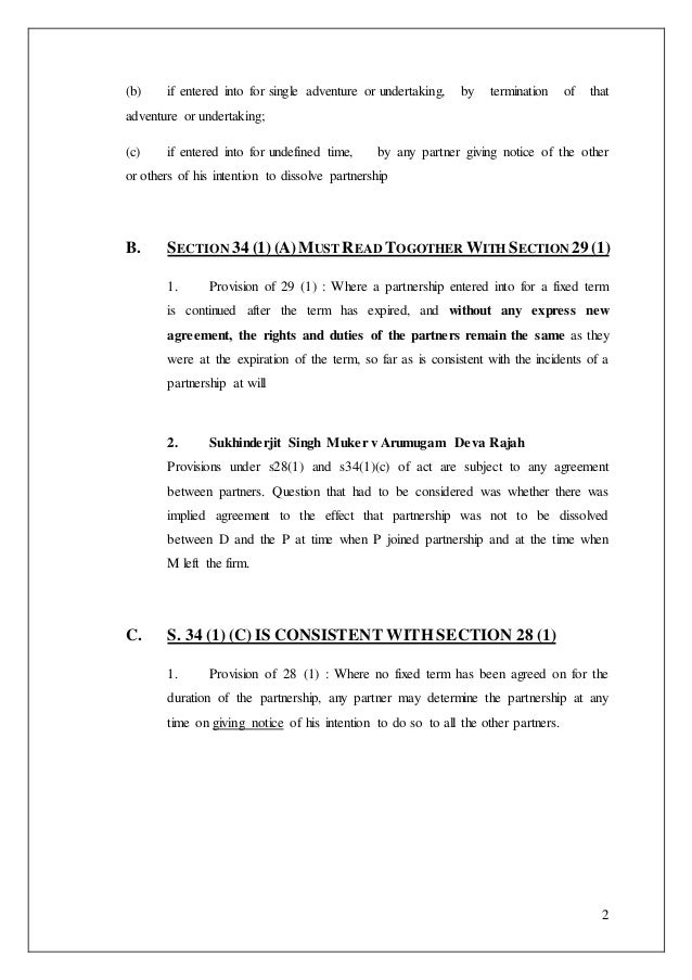 Partnershipdissolution of partnership – Partnership Dissolution Agreement