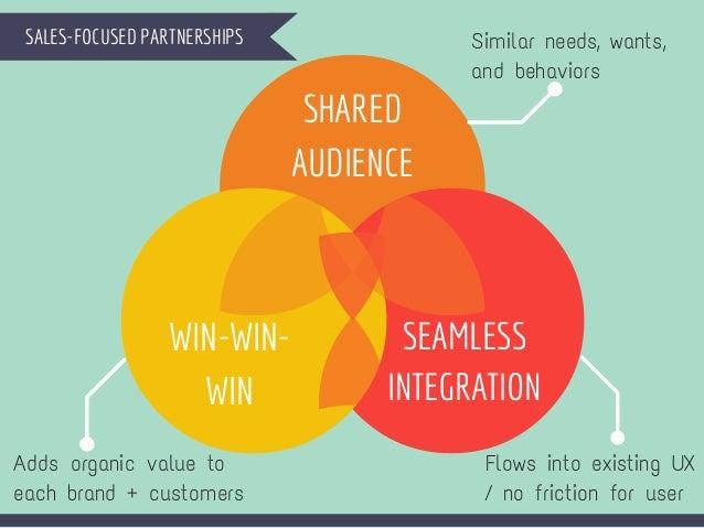 5 sales focused partnerships