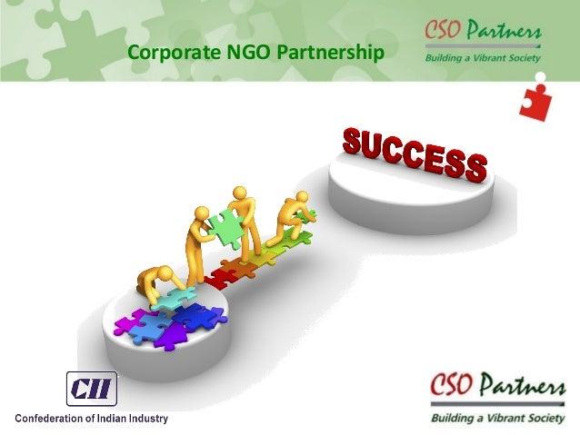 Corporate NGO Partnership