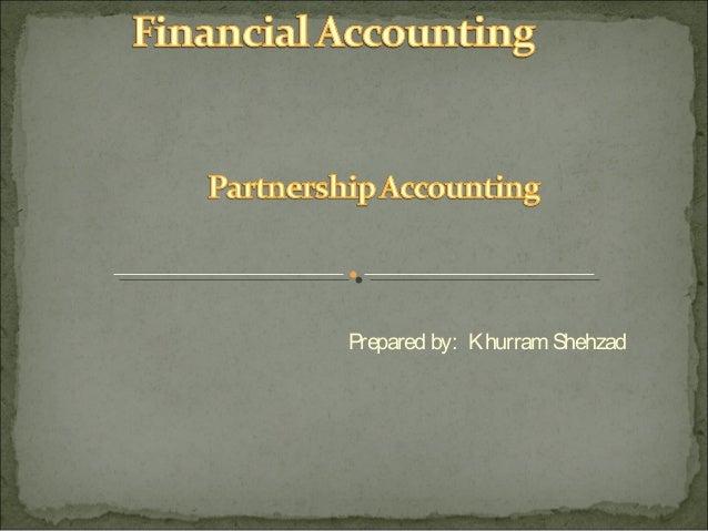 Prepared by: Khurram Shehzad