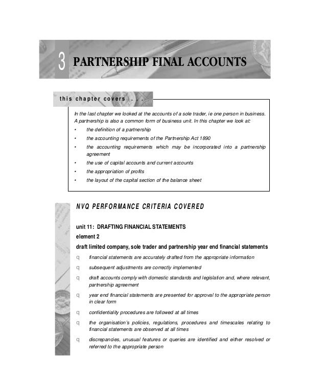 Partnership Accounts