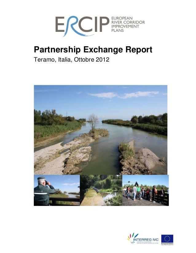 Partnership Exchange Report Teramo, Italia, Ottobre 2012