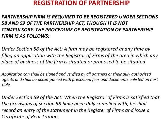 registrar of partnership firms